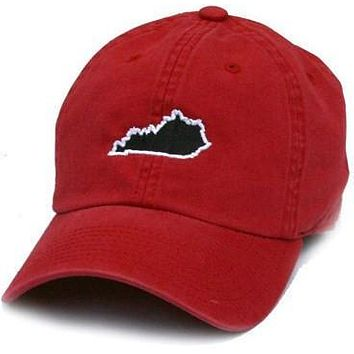 KY Louisville Gameday Hat in Red by State Traditions