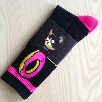 Odd Future OFWGKTA Golf Wang Wolf Gang Donut Socks