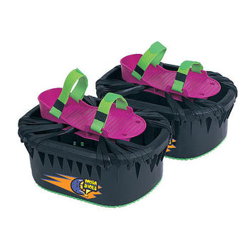 Deluxe Black Moon Shoes