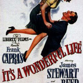 It's A Wonderful Life James Stewart Vintage Movie Poster