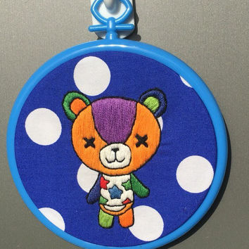 Custom Animal Crossing townsfolk hoop (choose any villager)