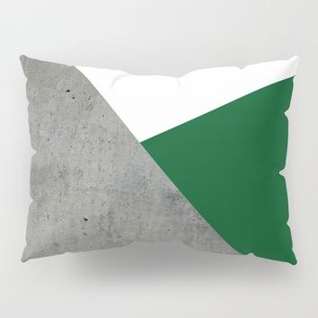 Concrete Festive Green White by ARTbyJWP