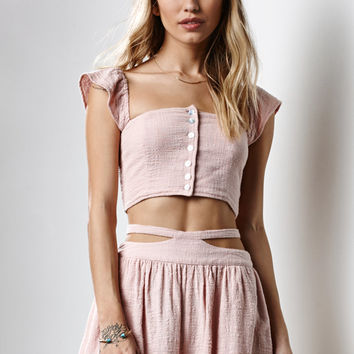 Somedays Lovin Sun and Sand Cropped Top at PacSun.com