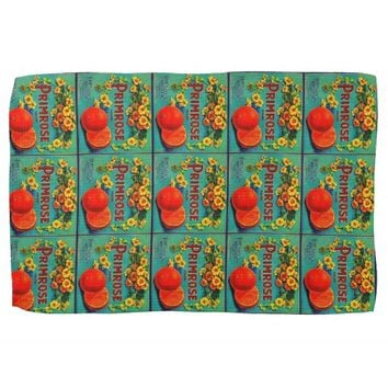 Vintage fruit co. kitchen towel