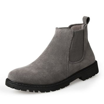 Men's Ankle Military Boots