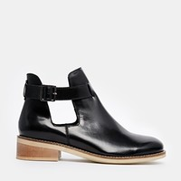 ASOS ARKIN Cut Out Ankle Boots