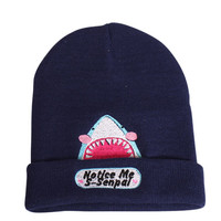 Notice Me Senpai KAWAII BAKA SHARK - Long Beanie - $22.00 : Fantastic Fam, Inc, Fashion. Family. Friends. Fun.