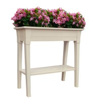Adams Manufacturing 36 in. Deluxe Resin Desert Clay Garden Planter-9303-23-3700 at The Home Depot