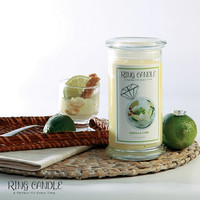 Vanilla Lime Ring Candle