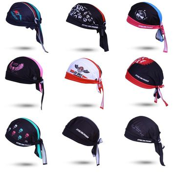Cycling Cap Sweatproof Sunscreen Headwear Bike Women Men Scarf Bicycle Bandana Pirate Headband Riding Hood Sports hat Headcloth