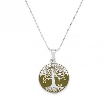 Avocado Tree Of Life Expandable Necklace