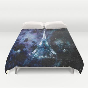 Paris dreams Duvet Cover by 2sweet4words Designs