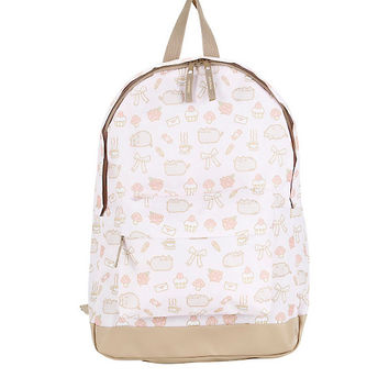 Pusheen And Things Print Backpack