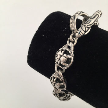 Awesome Great Deal Shiny Stylish Hot Sale New Arrival Gift Titanium Hip-hop Club Spider Bracelet [9095361799]