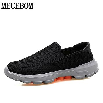 Men shoes Spring Autumn Mesh Breathable Men Casual Shoes MD light slip-on men shoes zapatos hombre size 37-45 879m