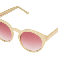 Komono - Renee Rose Blush Sunglasses, Red Lenses