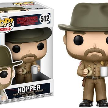 Hopper with Donut Funko Pop! Television Stranger Things
