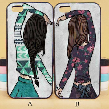 Best Friend Forever,couple cases,iPod 5,iPhone 5s/ 5c/5/4S/4 ,Samsung Galaxy S3/S4/S5/S3 mini/S4 mini/S4 active/Note 2/Note 3