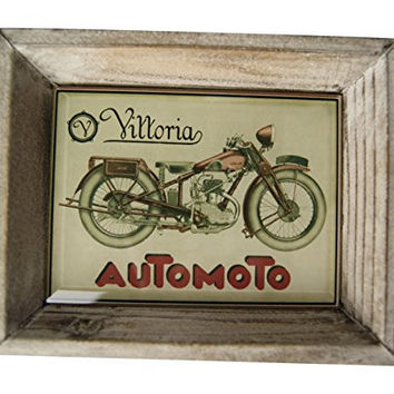 "Mini Accent Tray 4.5"" X 5.5"" By Floating Circus (Motorcycle)"