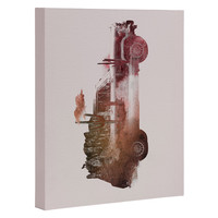 Robert Farkas Drive me back home 02 Art Canvas