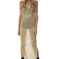 HEY TONIGHT GLITTER MAXI DRESS