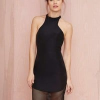Finders Keepers Fatal Attraction Cutaway Dress