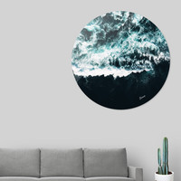 «Oceanholic», Exclusive Edition Disk Print by Uma Gokhale - From $59 - Curioos