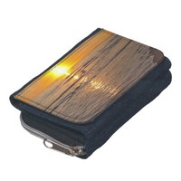 Wallet: Sunset by the Beach Wallet