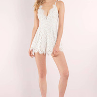 Lily Lace Romper