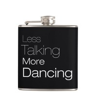 Less Talking More Dancing (for dark backgrounds)