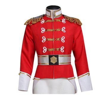 DCCKH6B Barbie in the Nutcracker King Eric Jacket Costume Adult Men's Coat Cosplay Custom Made