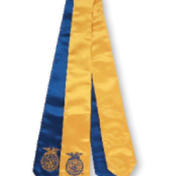 Embroidered FFA Graduation Sash – National FFA Organization Online Store