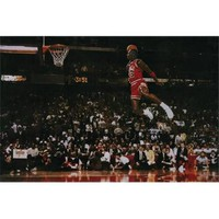 Hot Stuff Enterprise Z134-24x36-NA Michael Jordan Dunk Poster, 24 x 36 - Walmart.com