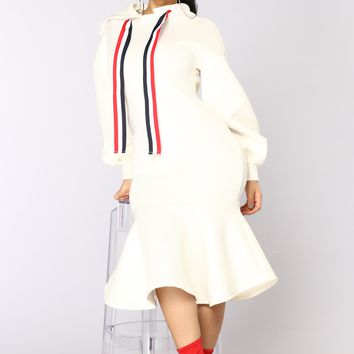Nagini Midi Dress - White