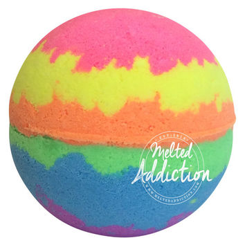 Rainbow Bomb Luxury Bath Bomb