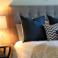 24x24 Solid NavyPillow Cover