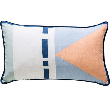 charlie / large linen cushion
