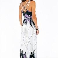 Caged In Back Maxi Dress $39