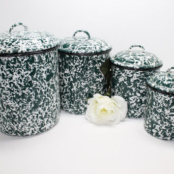 Best Enamelware Canisters Products On Wanelo