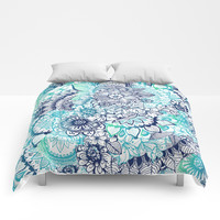 Hippie Vibes Comforters by rskinner1122