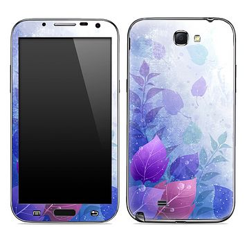 Purple Magic Floral Skin for the Samsung Galaxy Note 1 or 2