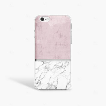 iPhone 7 Case Marble iPhone 7 Plus Case Clear Marble iPhone 7 Case Protective iPhone 6S Case Marble PRINT not Real Marble