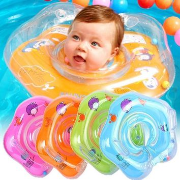 Inflatable Baby Neck Float Tube Swimming Pool Ring Float