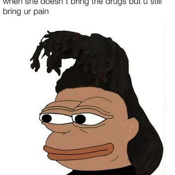 'Pepe: The Weeknd ' Poster by nojams