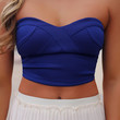 Finest Hour Crop Top - Royal