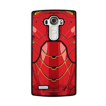 iron man costume lg g4 case cover  number 2