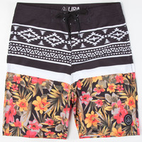 Lira Fiji Mens Boardshorts Black  In Sizes