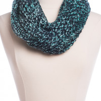 Chunky Infinity Scarf, Blue