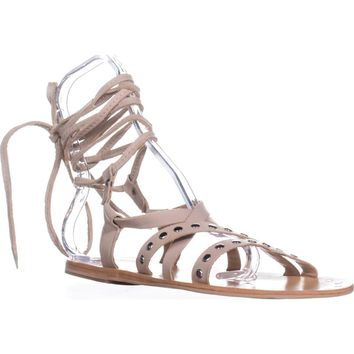 Charles by Charles David Steeler Gladiator Sandals, Nude, 5 US