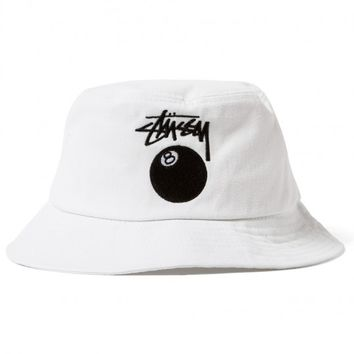 Stussy Rootz 8 Ball Bucket Hat